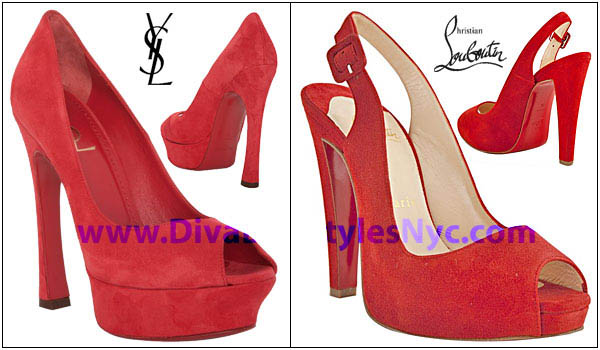 37ed5ef11f80 YSL vs. Christian Louboutin…Round 1….FIGHT!