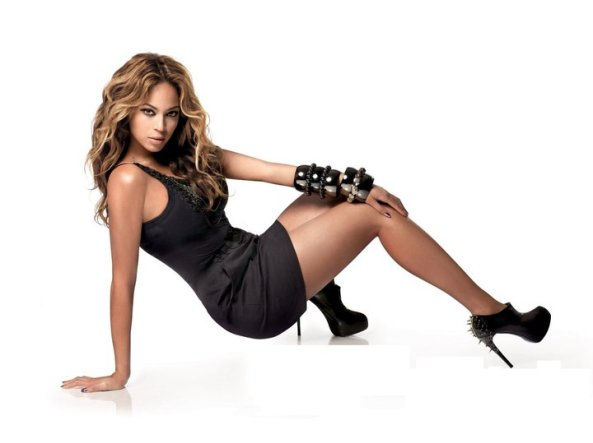 Beyonce in Ruthie Davis shoes
