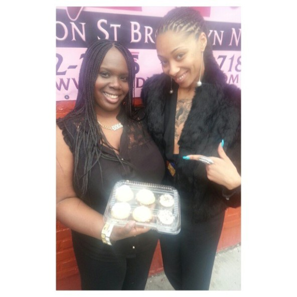 Ceo of TheCupcakeBartender & Dutchess ofVh1's  Black Ink